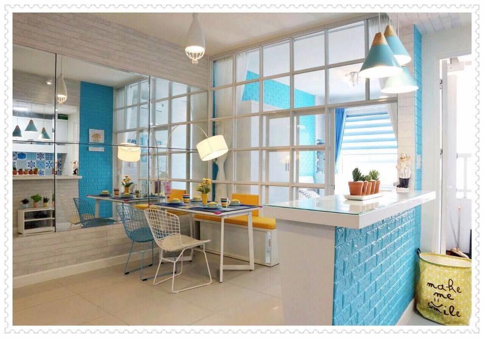 Không gian nhà ở trở nên phong cách và hiện đại hơn với xốp dán tường